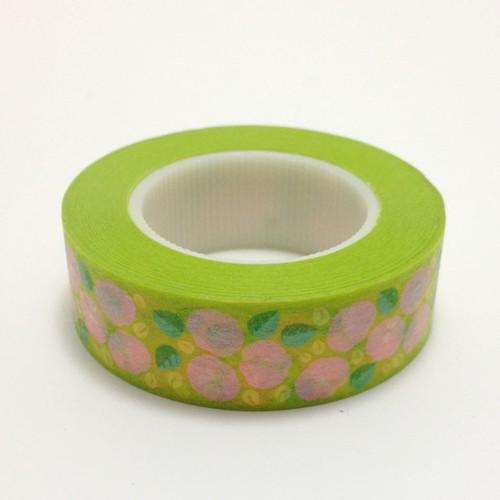 マスキングテープ(花PG)【台湾】