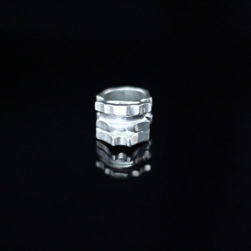 Hidden Temple Pewter Ring