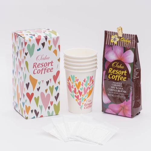 【オアフリゾートコーヒー】 バニラマカデミア155g トライアル(送料無料)