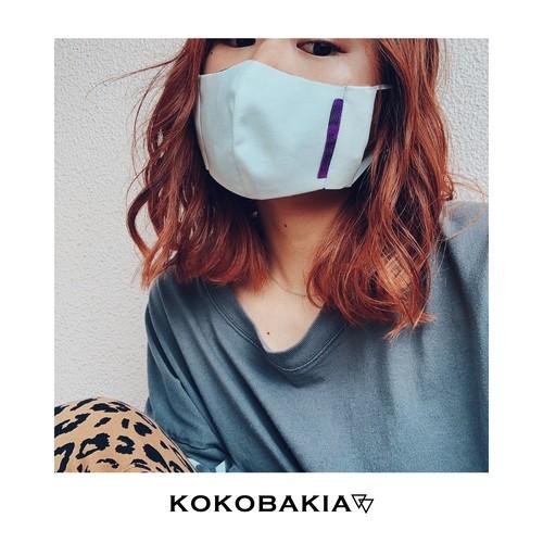 【送料無料】ホワイト コウモリ マスク