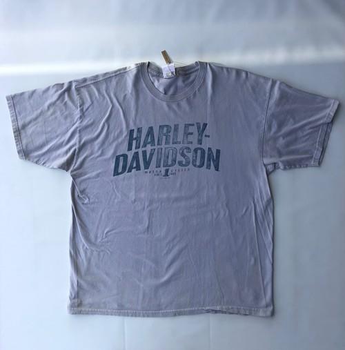 2010年製 ハーレーダビッドソン Tシャツ グレー 灰色 XLサイズ