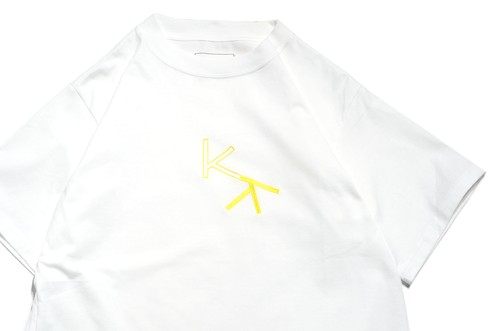 """KK"" T-Shirt WHITE -kudos-"