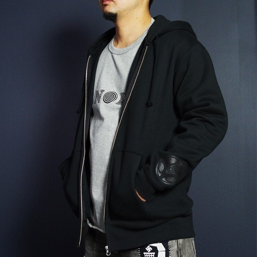 Jomon Zip Hoody Type 1 color / black