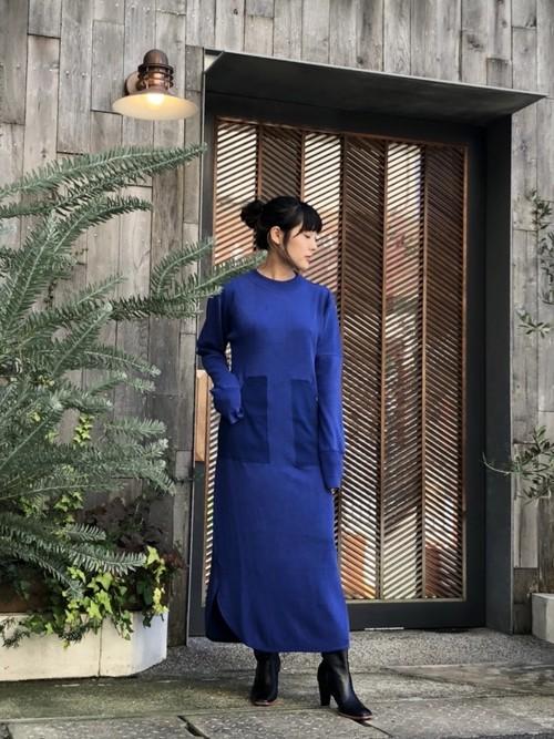 【20AW】PHOTOCOPIEU フォトコピュー / SIDONIE Dress