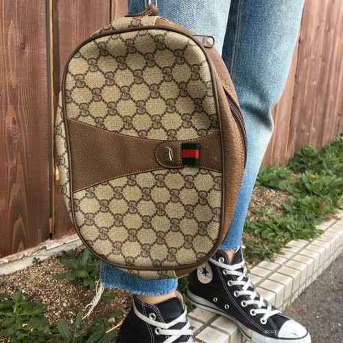 Old  GUCCI クラッチバック