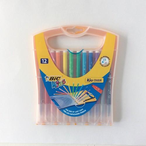 BIC カラーペン レインボーケース 12色セット