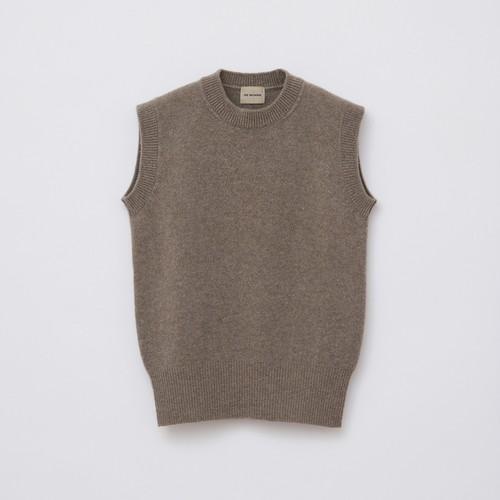 Sleeveless Knit / Beige