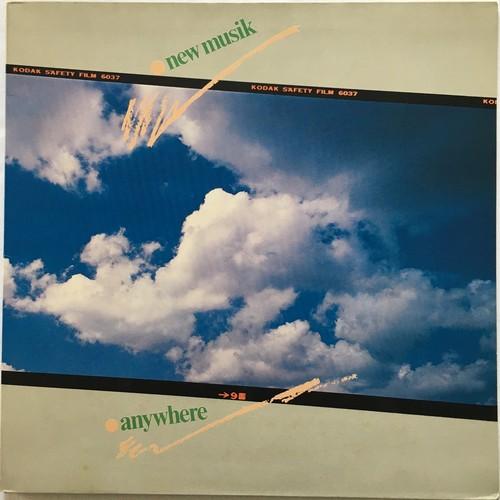 【LP・蘭盤】New Musik  / Anywhere