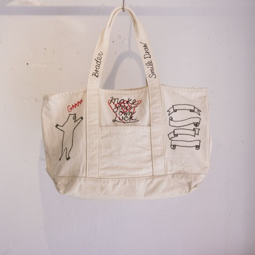 Broder Scribble Tote Bag