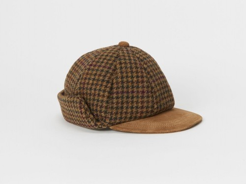 "Henderson Scheme""tweed ear cap"""