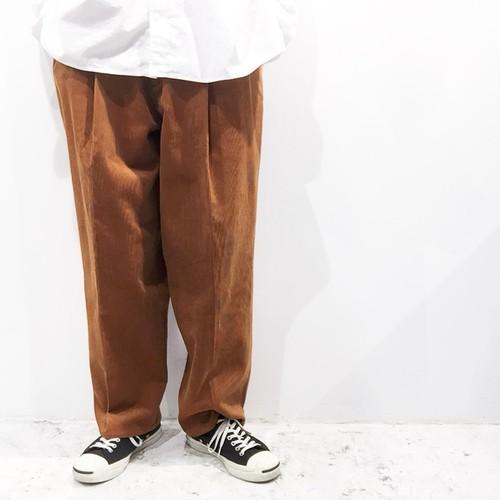 YOKO SAKAMOTO 【ヨーコサカモト】 CLASSIC WIDE SLACKS PANTS