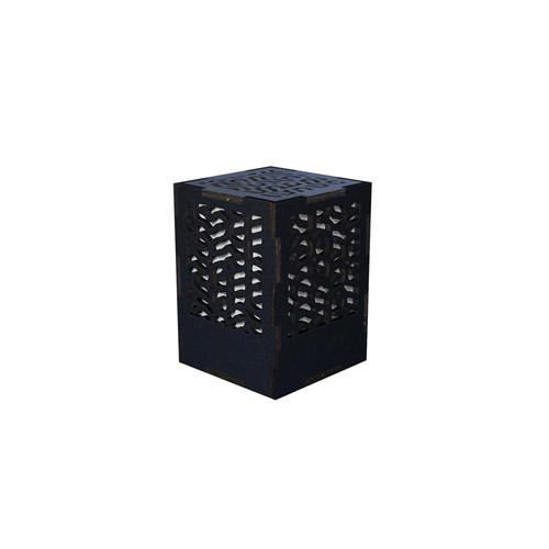 ミニ行灯 チューリング - 置き型照明 Sサイズ ブラック