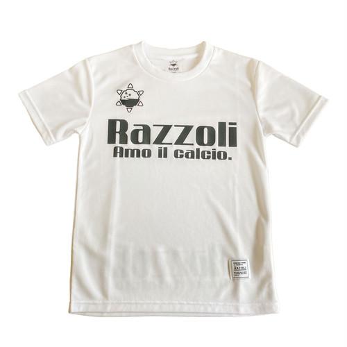 Razzoli ジュニア プラシャツ WHITE(RZZKS01)