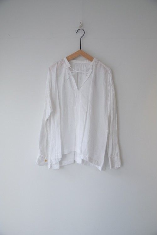 【ordinary fits】FLORIST BLOUSE linen OFF/OL-S072L
