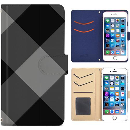 全機種対応 手帳型ケース iPhone Xperia Zenfone Aquos Galaxy Arrows Huawei Digno Raijin JDC279plaid