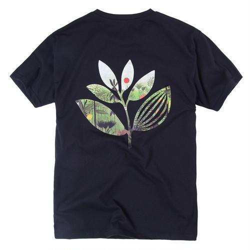 MAGENTA JUNGLE II TEE BLACK マゼンタ Tシャツ