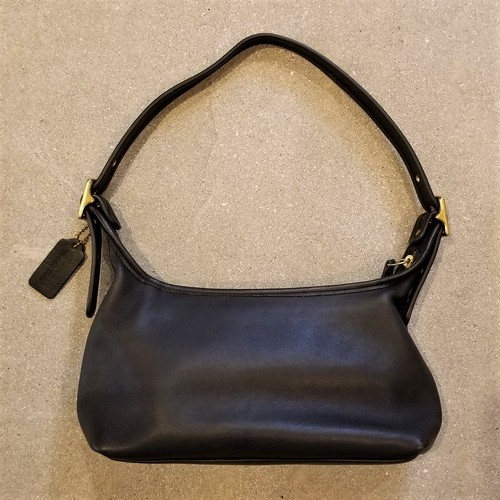 COACH  leather sholder bag /Made In USA [B-257]