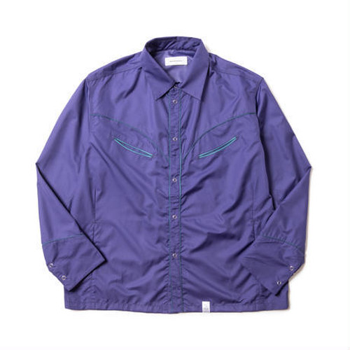 MAGIC STICK Western Style Bdu Shirts PURPLE