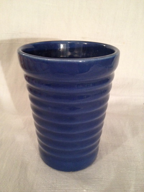 TUMBLER(BAUER POTTERY)   #FEDERAL BLUE