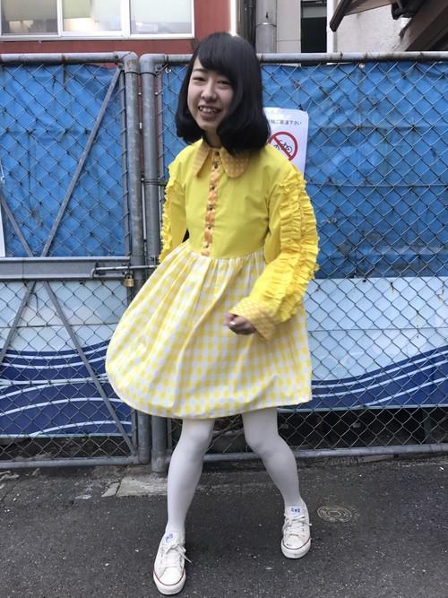 【MIYANISHIYAMA】飾り巻きワンピース