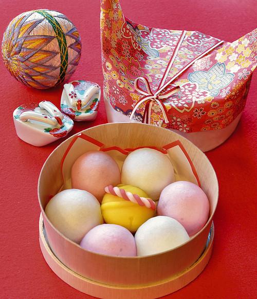 七五三御祝わっぱ入り|豆大福や上生菓子のお取り寄せ・桐木神楽堂