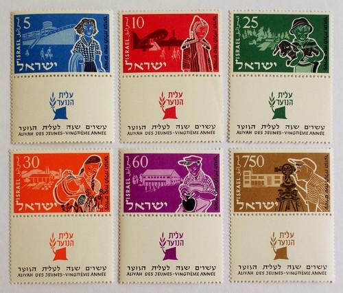 青少年移民 / イスラエル 1955