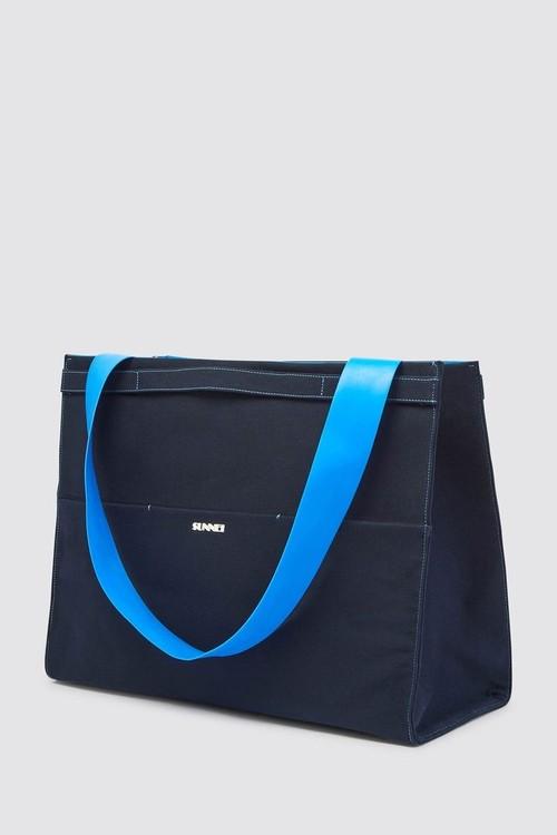 『SUNNEI』BLUE PARALLELEPIPEDO  BAG