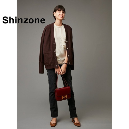 THE SHINZONE/シンゾーン・アンデスワッフルカーディガン