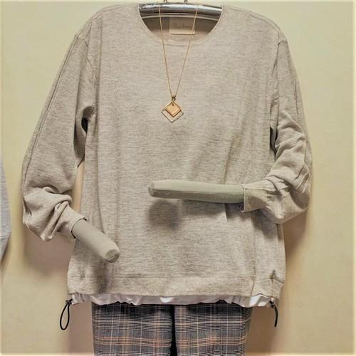 薄手軽量 コードストッパー付きセーター 【 送料無料 】