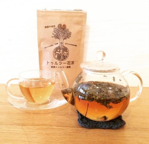 トゥルシー花茶 15g  50杯用  宮崎県産   農薬不使用  天然水を使用