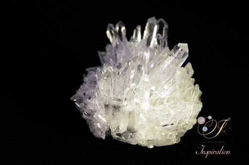透明度抜群 天然水晶クラスター K006