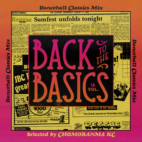 BACK TO THE BASICS Vol.18-Dancehall Classics Mix