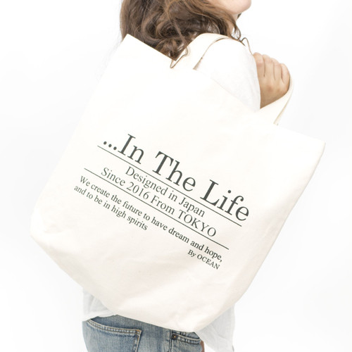 [ the HAMP works ] TOTE_BAG B-1 :  In The Life
