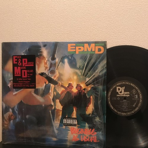 EPMD - Business As Usual (LP, Album, US, 1990)