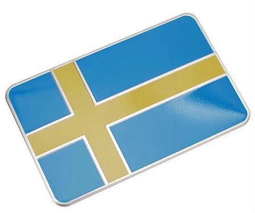 スウェーデン エンブレム  国旗 ステッカー シール