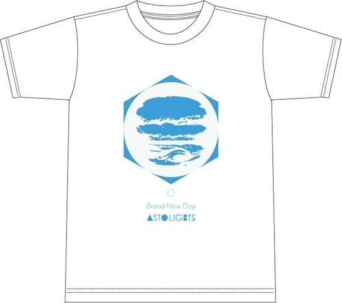 【通販】AstoLights - BRAND NEW DAY T shirt (White)