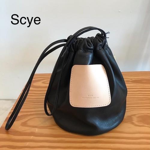 SCYE/サイ・SOFT LEATHER DRAWSTRING BAG