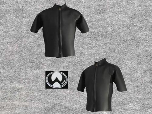 スーパーネッスルスキン 3X3mm半袖タッパ立衿wsm1713SSN33(フルオーダー料込)