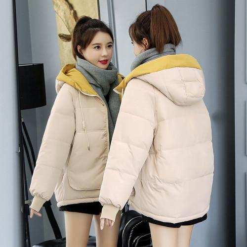 【アウター】韓国風ルーズbf大きいサイズショート丈ダウンコート