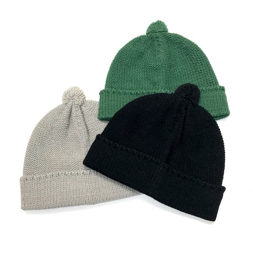 【NO ROLL】MONK BEANIE