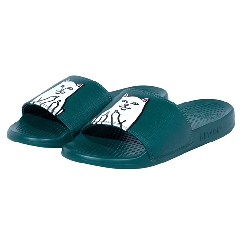 RIPNDIP Lord Nermal Slides (Hunter Green)