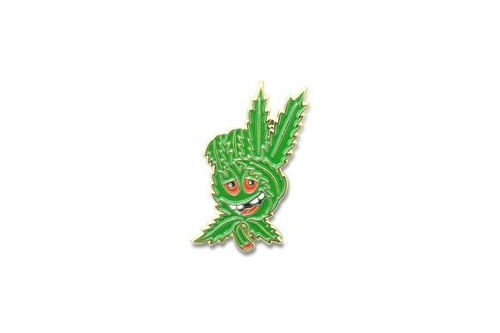 Peace Pakalolo Pin