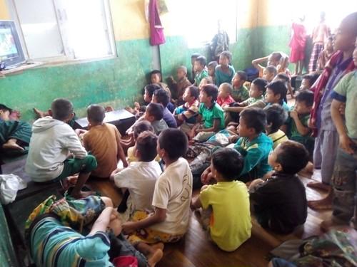 ミャンマーの孤児院への寄付5000円