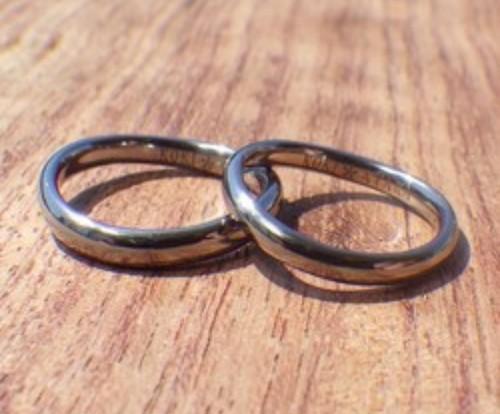 pair wave ring