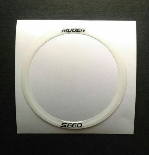 S660 ステアリング・センターリング NEWバージョン エスロクモチーフマーク ムゲン仕様