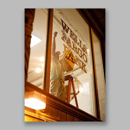 Postcard「Worked, Unnoticed」13cm×18cm Original Print