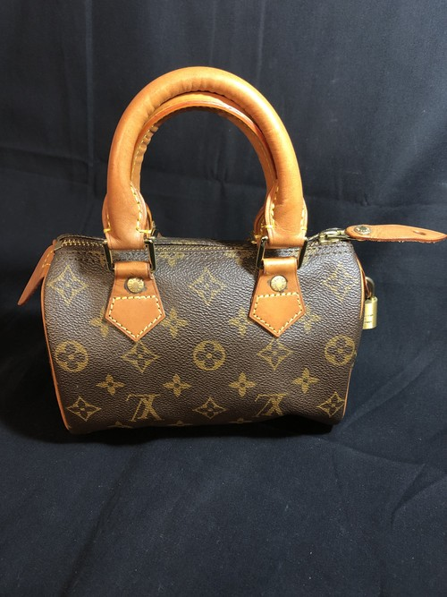 LOUIS VUITTON ルイヴィトン ミニスピーディ