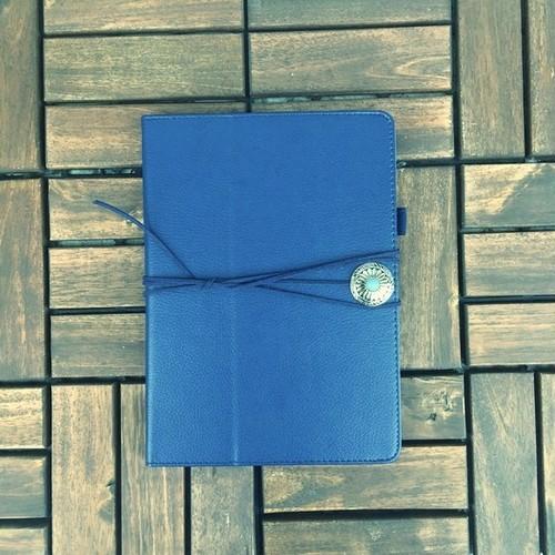 コンチョ付き iPad  手帳型 カバー