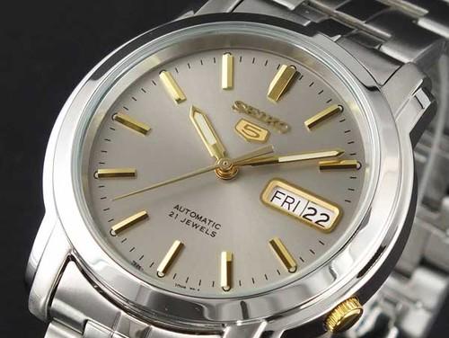 セイコー SEIKO セイコー5 SEIKO 5 自動巻き 腕時計 SNKK67K1 シルバーゴールド