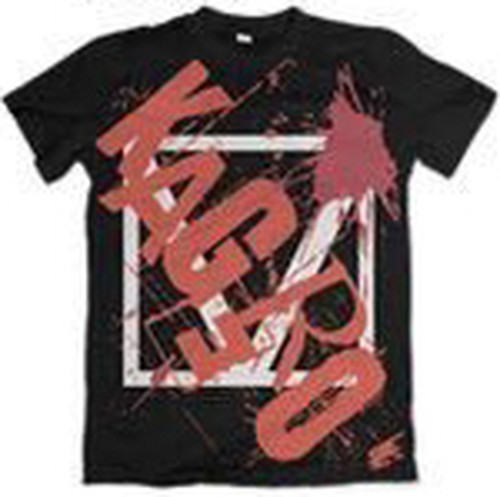 V Tシャツ BLACK